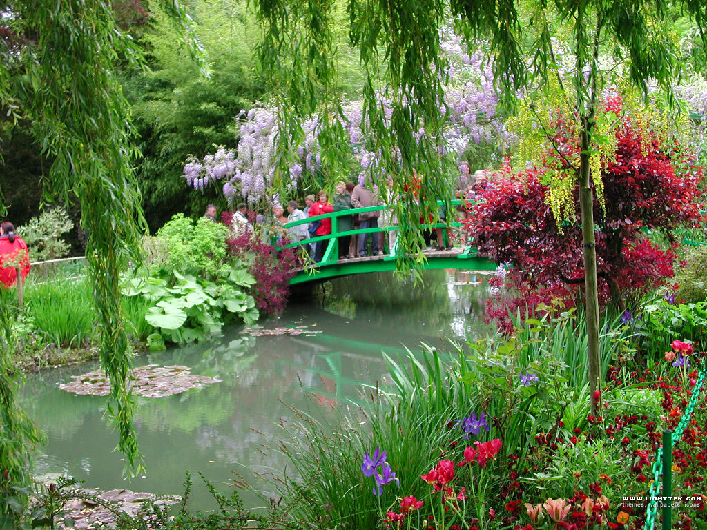 giverny et les jardins de monet voyages remi. Black Bedroom Furniture Sets. Home Design Ideas