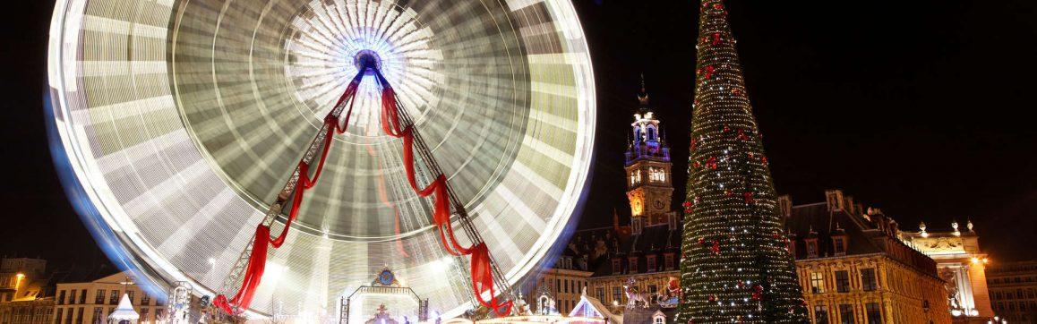 Marché de Noël de Lille avec les Voyages Rémi