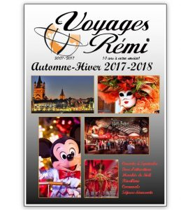 Brochure automne hiver 2017-2018