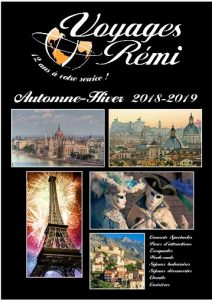 Brochure Automne-Hiver 2018-2019